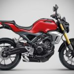 2017 honda cb150r exmotion millennium red side
