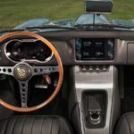 2017 jaguar e-type zero concept dashboard