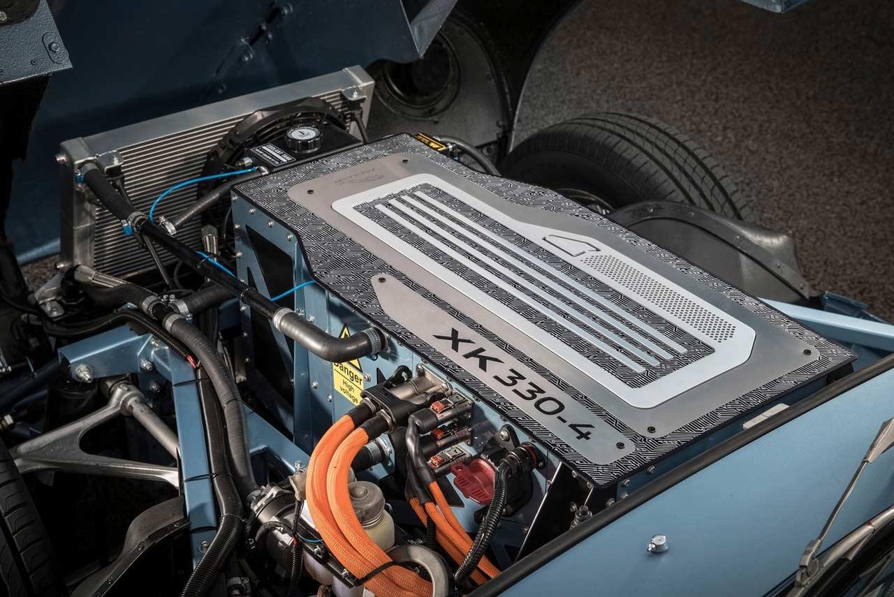 Jaguar E Type Zero Concept Showcased In London Autobics