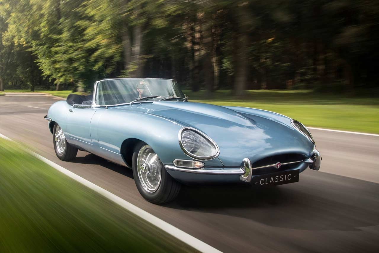 Jaguar E Type Zero Concept Showcased In London Autobics