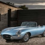2017 jaguar e-type zero concept roadster front left