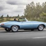 2017 jaguar e-type zero concept roadster rear quarter