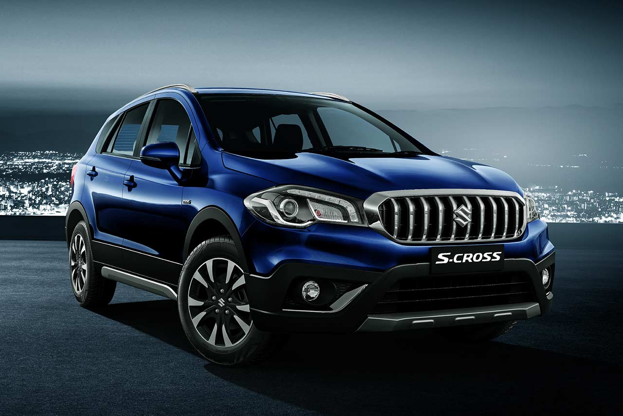 new maruti suzuki s cross facelift revealed for india. Black Bedroom Furniture Sets. Home Design Ideas