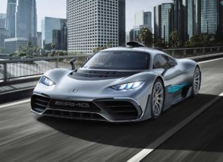 2017 mercedes-amg project one concept front quarter