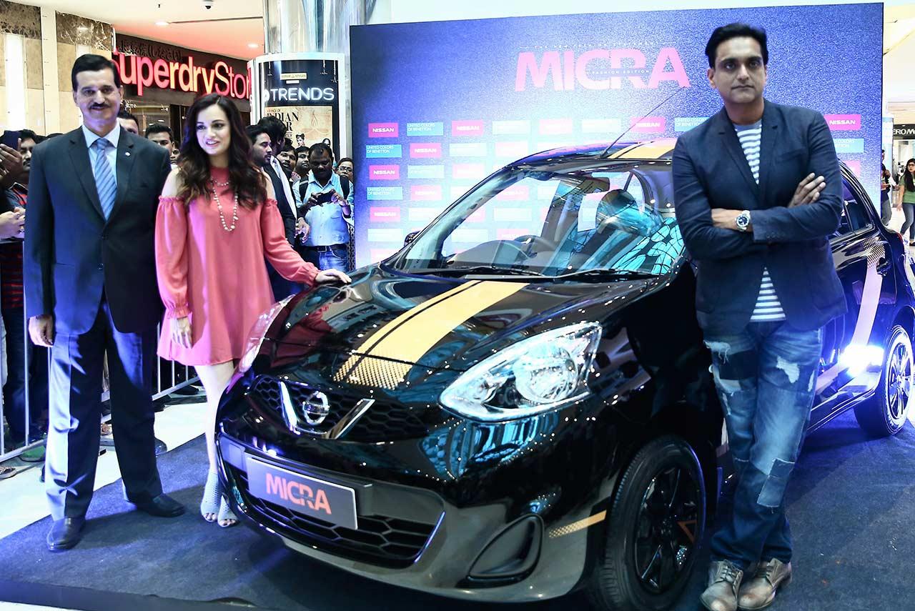 Nissan Micra Fashion Edition Price Dia Mirza