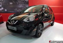 2017 nissan micra fashion edition front left fashion black