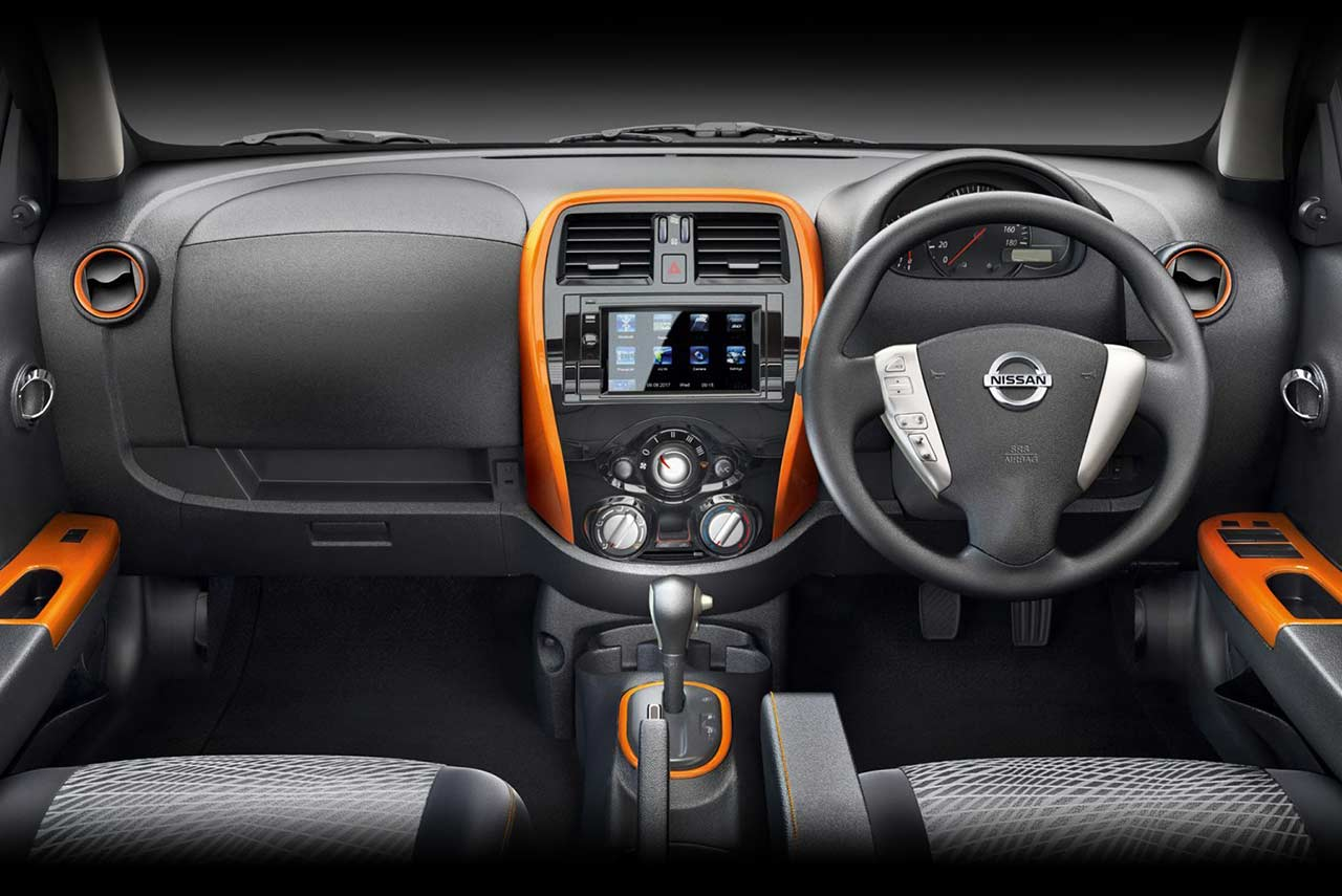 nissan micra fashion edition launched in india autobics. Black Bedroom Furniture Sets. Home Design Ideas