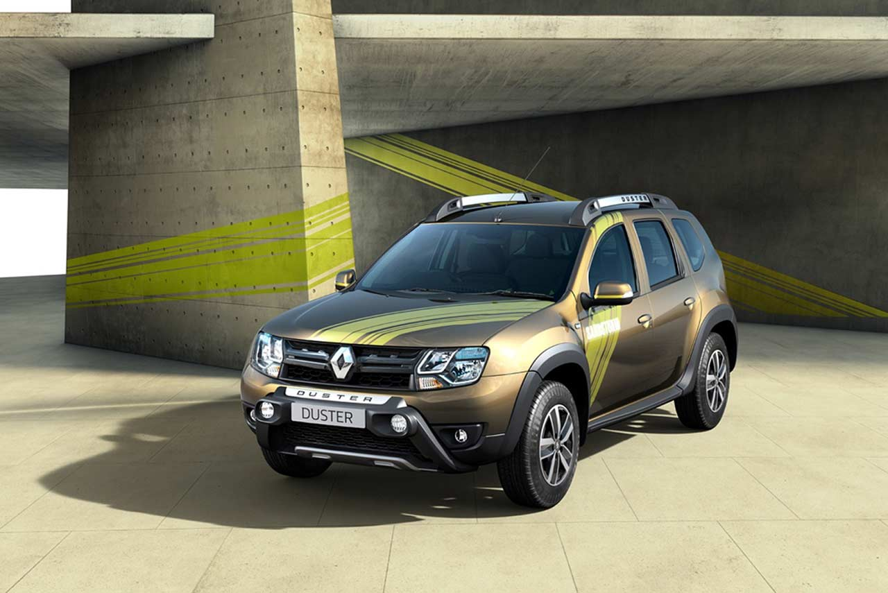 renault duster sandstorm edition launched in india autobics. Black Bedroom Furniture Sets. Home Design Ideas
