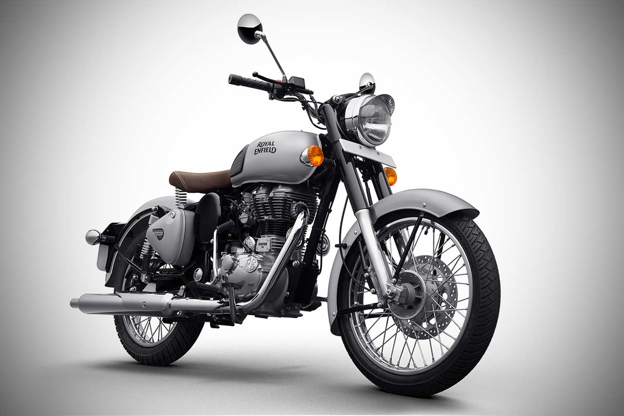 Royal Enfield Classic 350 Gunmetal Grey And Classic 500