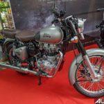 2017 royal enfeild classic 350 gun metal grey side mumbai