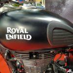 2017 royal enfield classic 500 stealth black tank mumbai