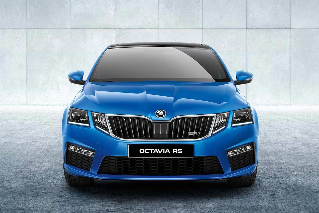 2017 skoda octavia vrs launched in india at inr lakh. Black Bedroom Furniture Sets. Home Design Ideas