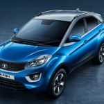 2017 tata nexon top studio moroccan blue