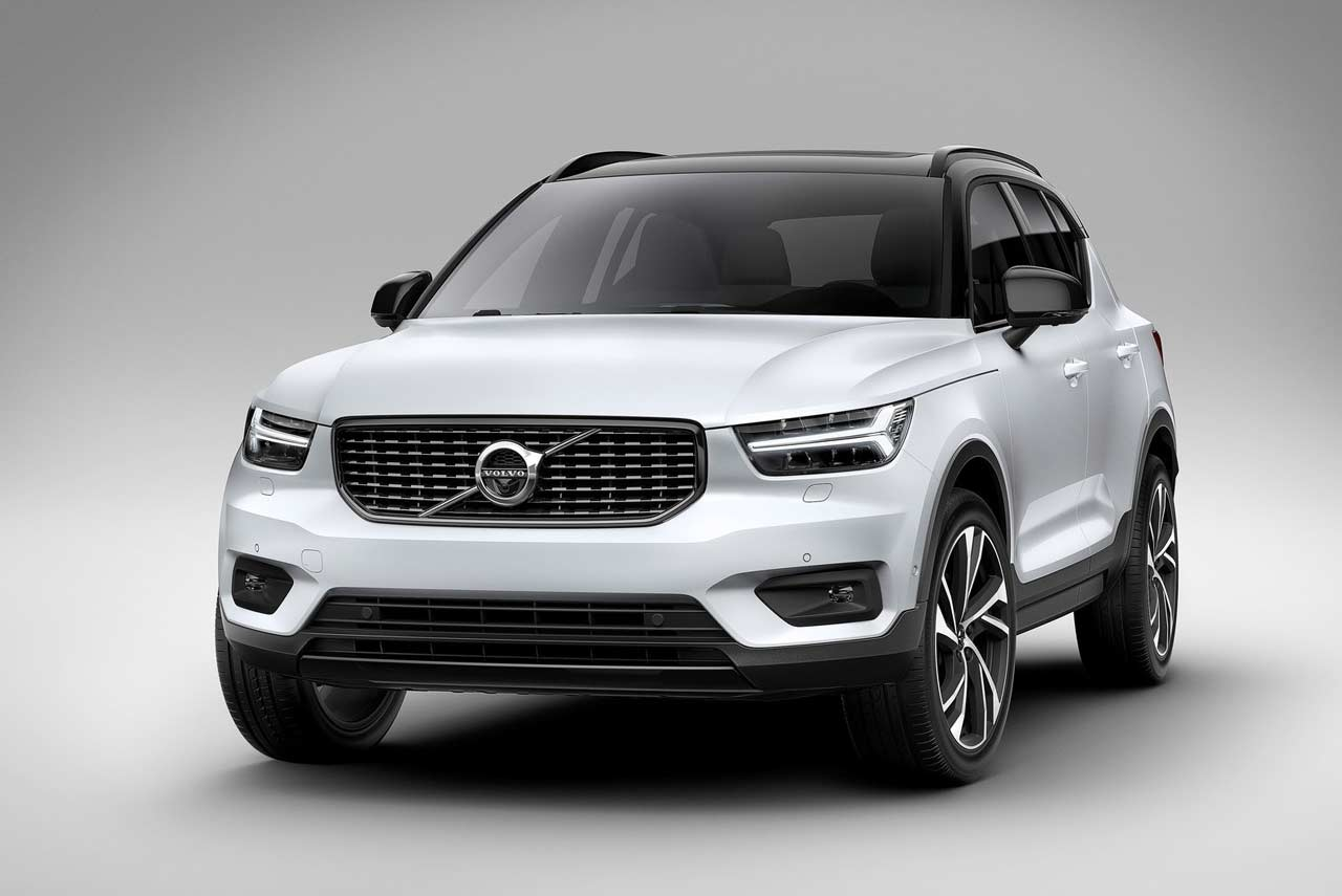 volvo xc40 suv introduced production begins in november autobics. Black Bedroom Furniture Sets. Home Design Ideas