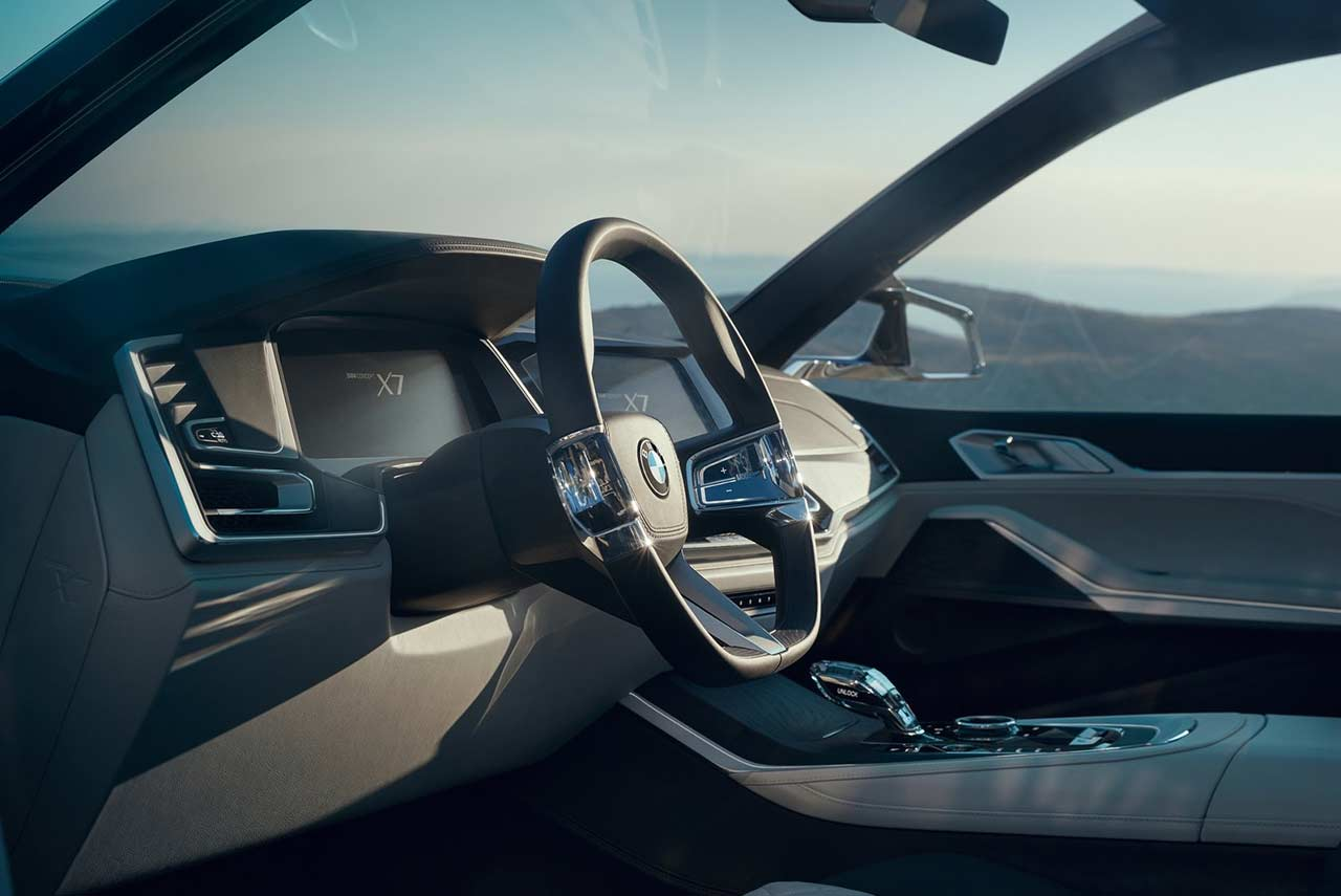 Jaguar Interior 2017 >> BMW Concept X7 iPerformance revealed - AUTOBICS