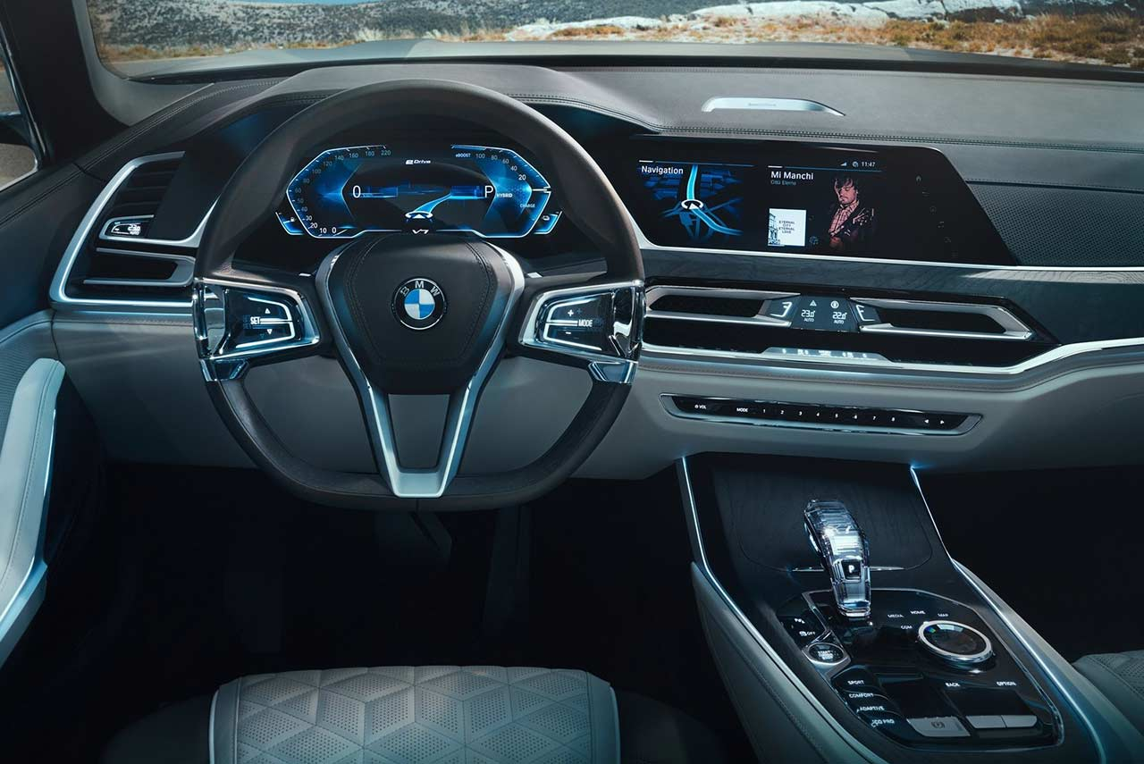 2018 Bmw X7 Concept Steering Autobics