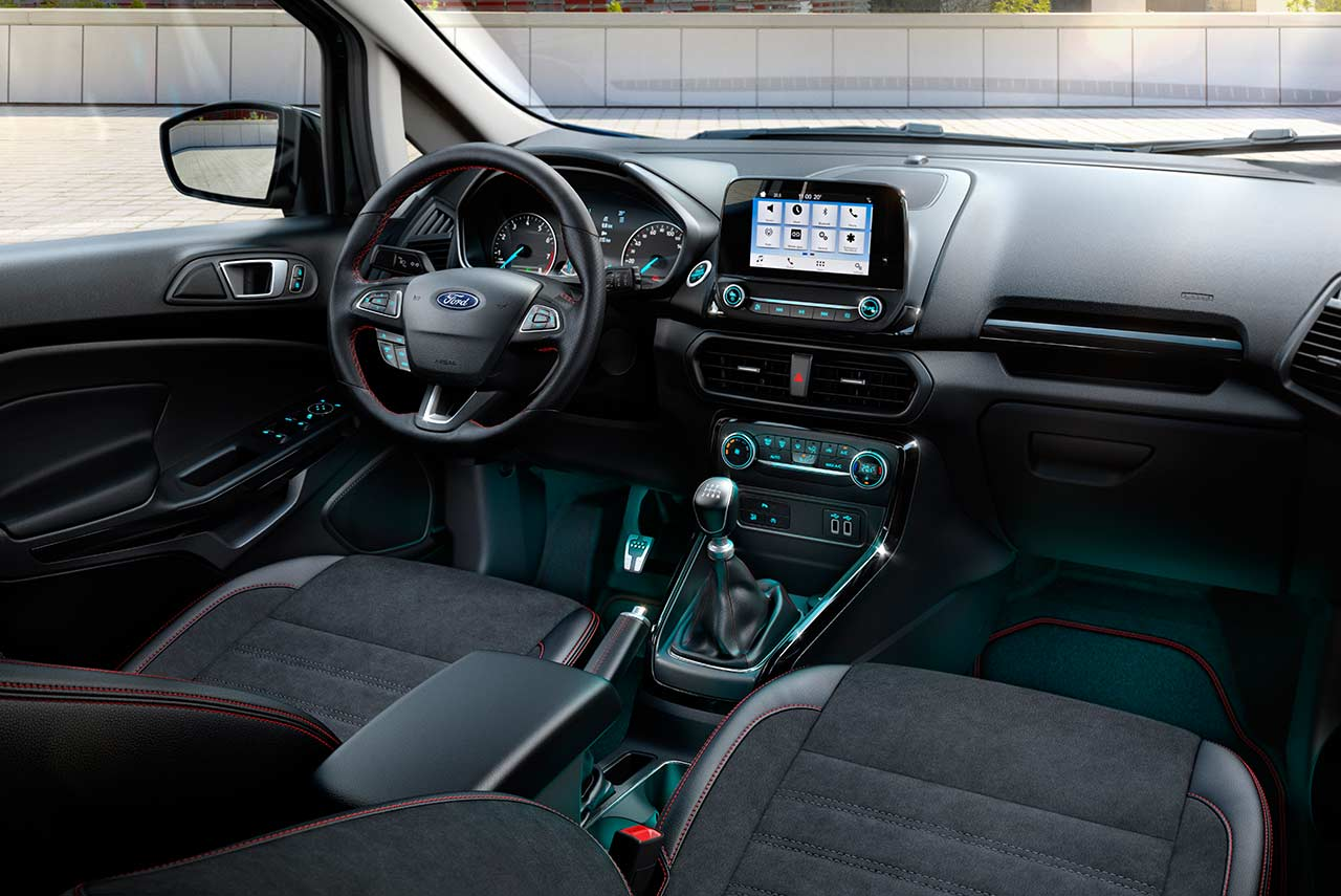 2018 ford ecosport st-line interior manual