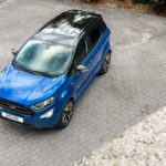 2018 ford ecosport st-line lightning blue top