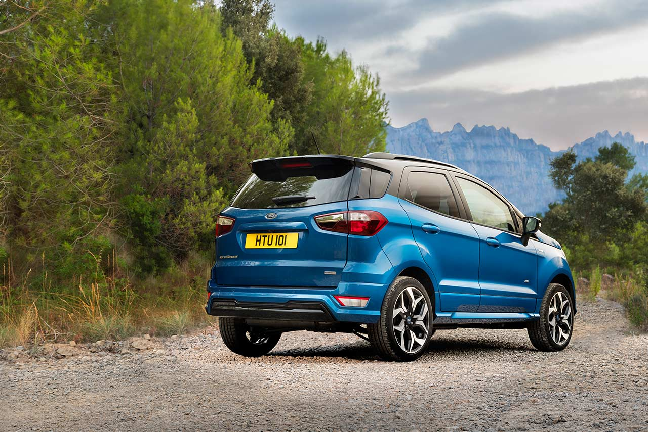 2018 new ford ecosport st-line europe