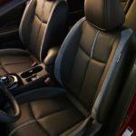 2018 nissan leaf front seat