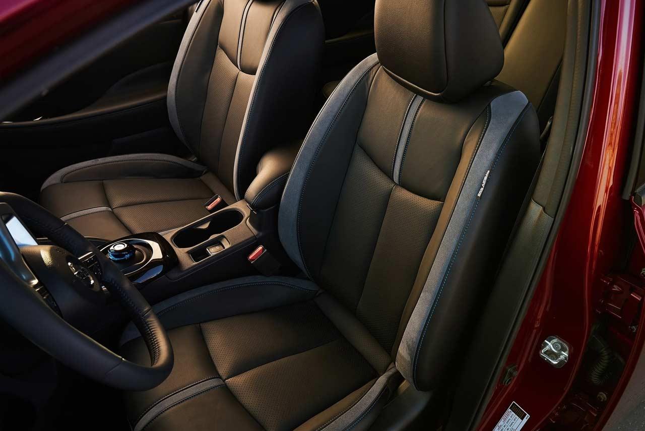 2018 nissan leaf front seat   AUTOBICS