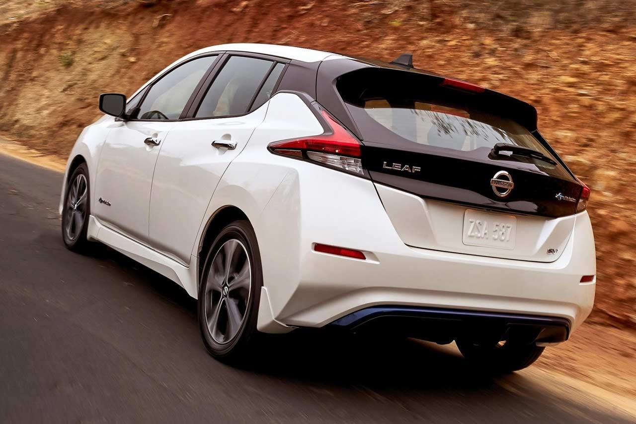 the all-new zero-emission 2018 nissan leaf revealed
