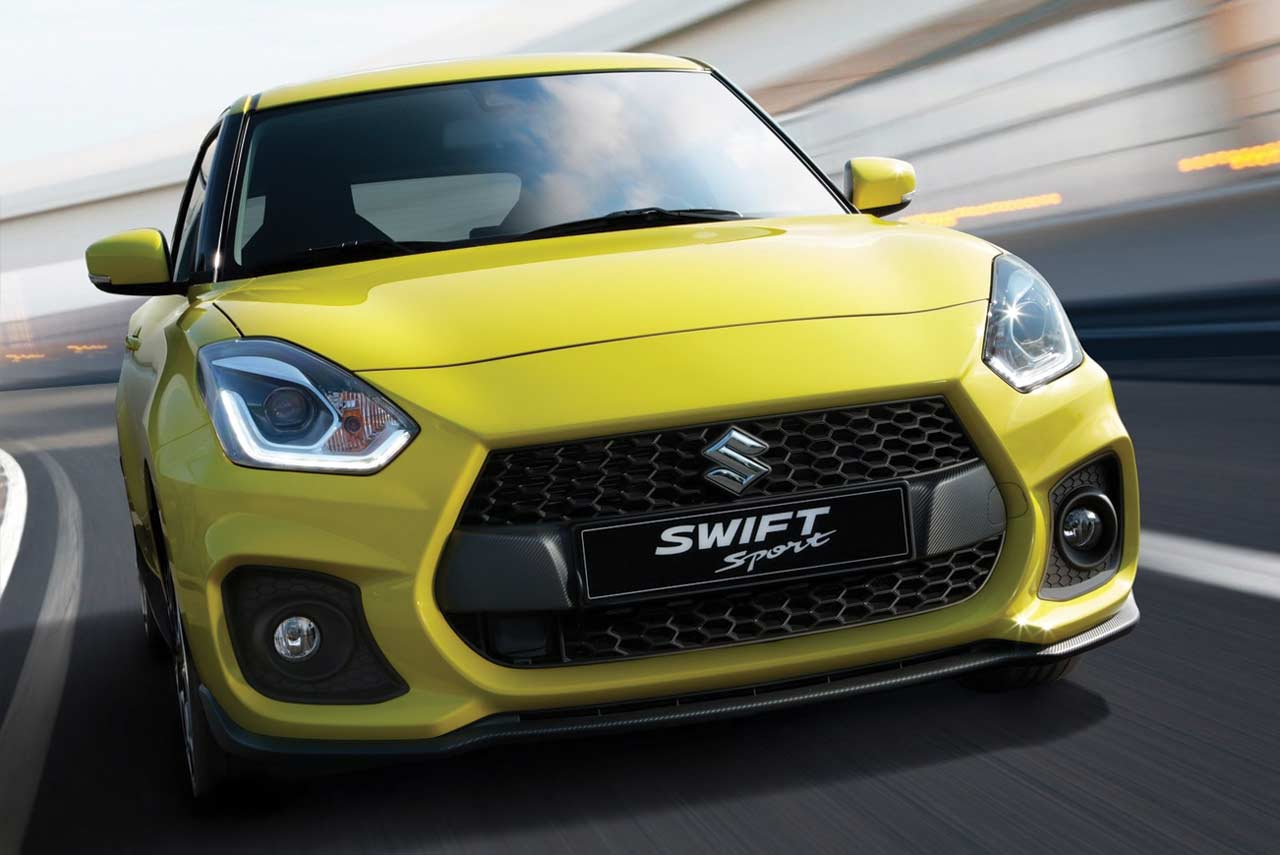 2018 suzuki swift sport makes its debut at the iaa 2017 autobics. Black Bedroom Furniture Sets. Home Design Ideas