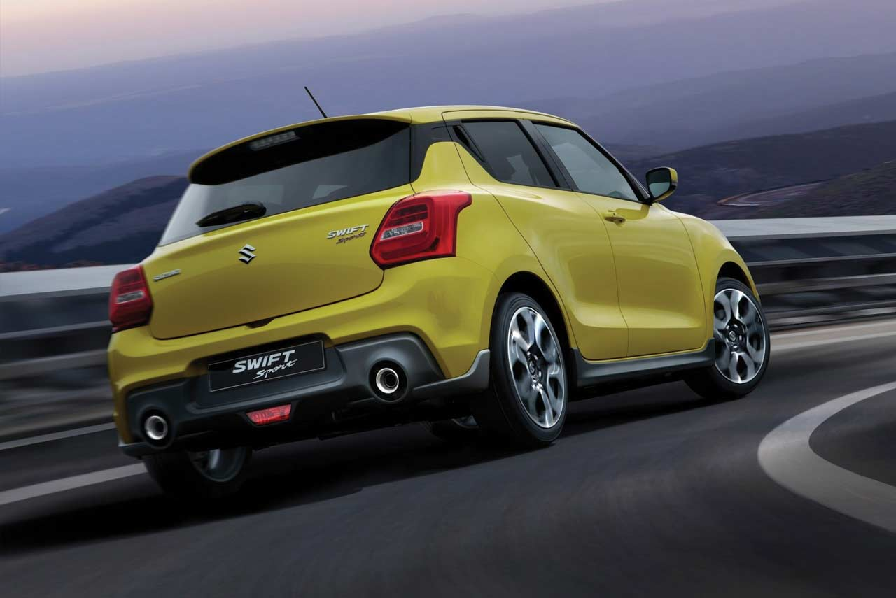 Suzuki Swift Sport Rear Diffuser
