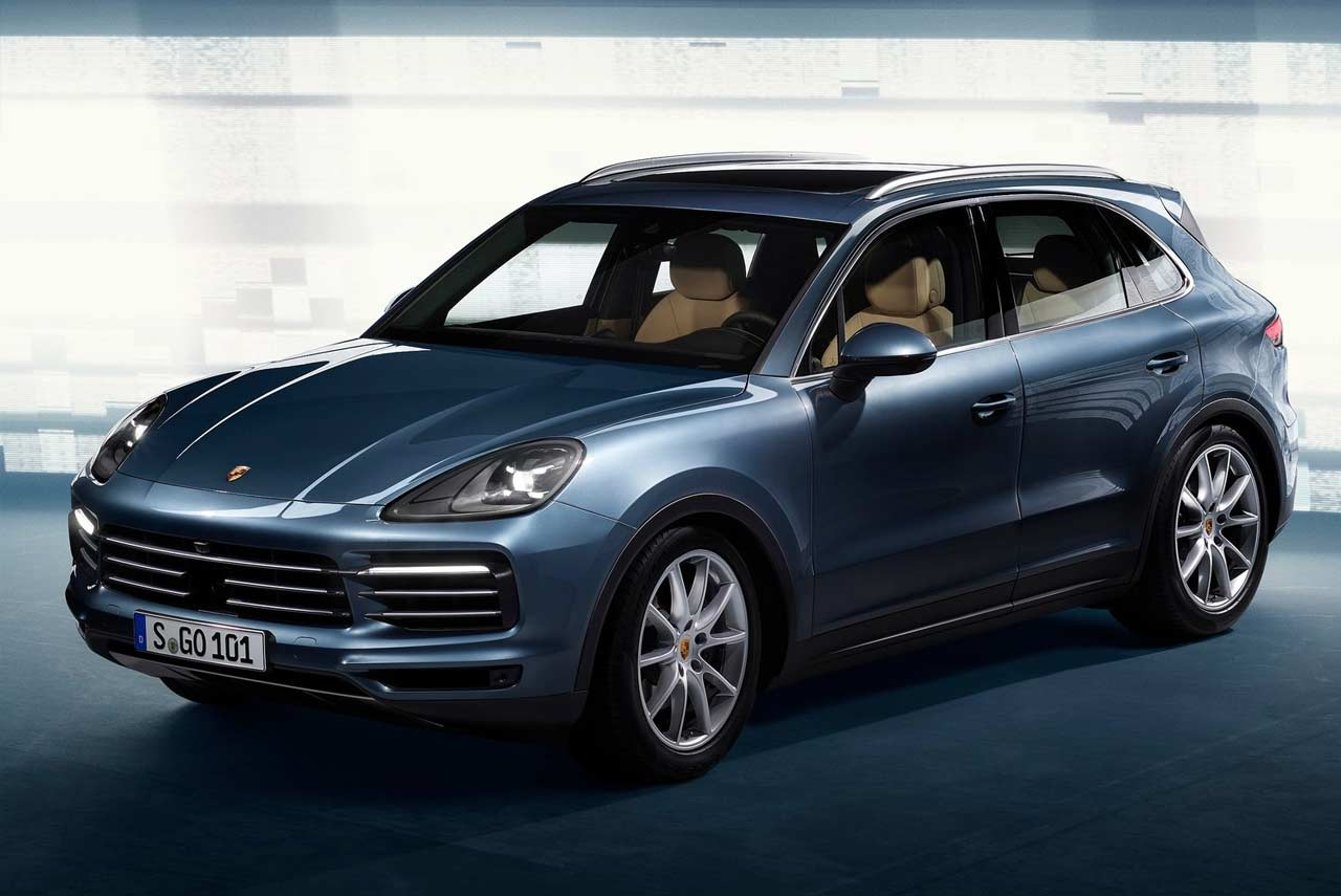 all new 2019 porsche cayenne unveiled autobics. Black Bedroom Furniture Sets. Home Design Ideas
