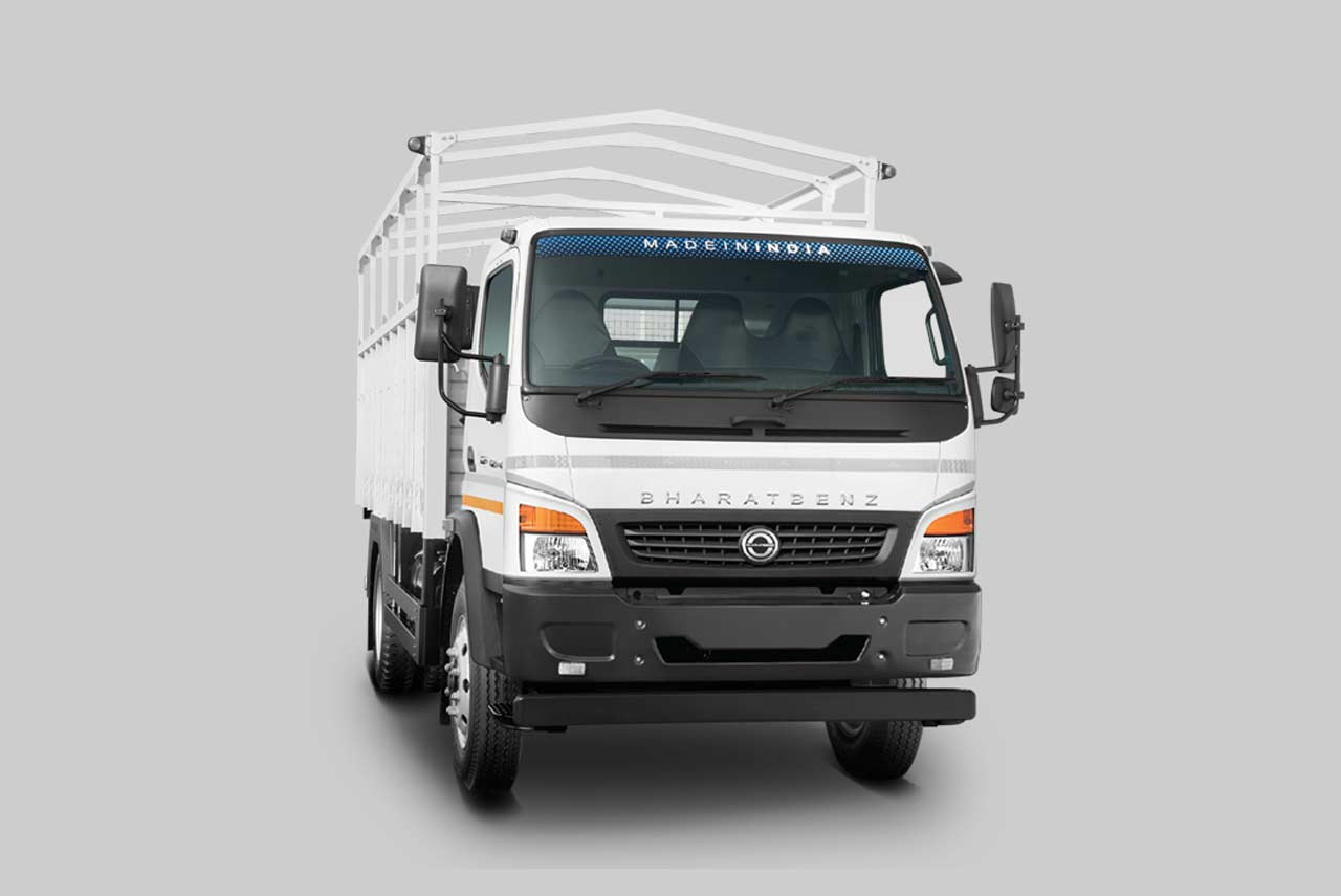 bharatbenz truck md 1214re