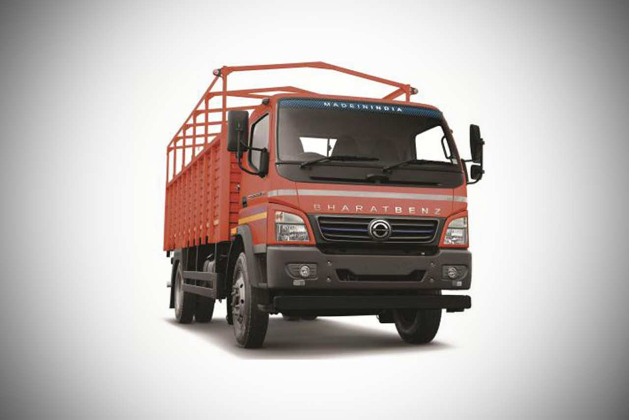 bharatbenz truck md in-power 1214re