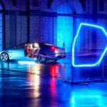jaguar xjl drone racing phosphor blue