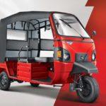 mahindra e-alfa mini electric rickshaw front quarter