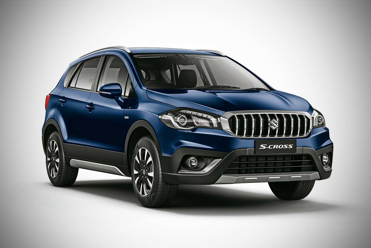 new maruti suzuki s cross facelift revealed for india autobics. Black Bedroom Furniture Sets. Home Design Ideas