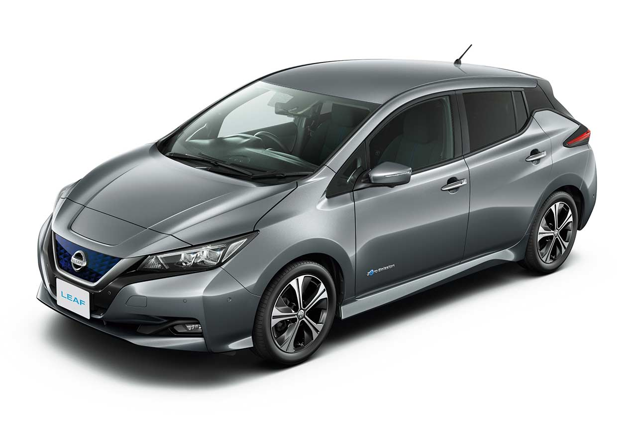 New Nissan Leaf 2018 Dark Metal Gray Autobics