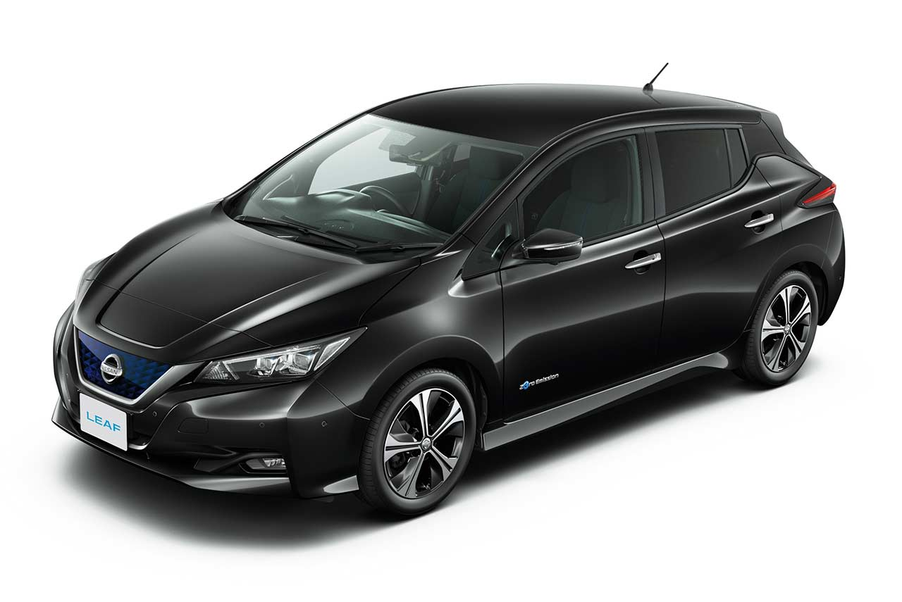 Nissan Leaf 2018 Review >> new nissan leaf 2018 super black | AUTOBICS
