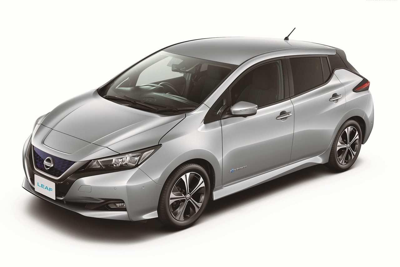 New Nissan Leaf Brilliant Silver Autobics