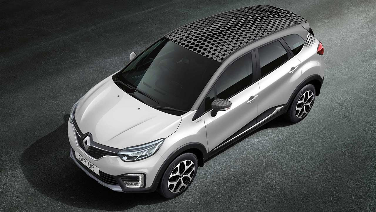 renault captur unveiled for india pre bookings open autobics. Black Bedroom Furniture Sets. Home Design Ideas
