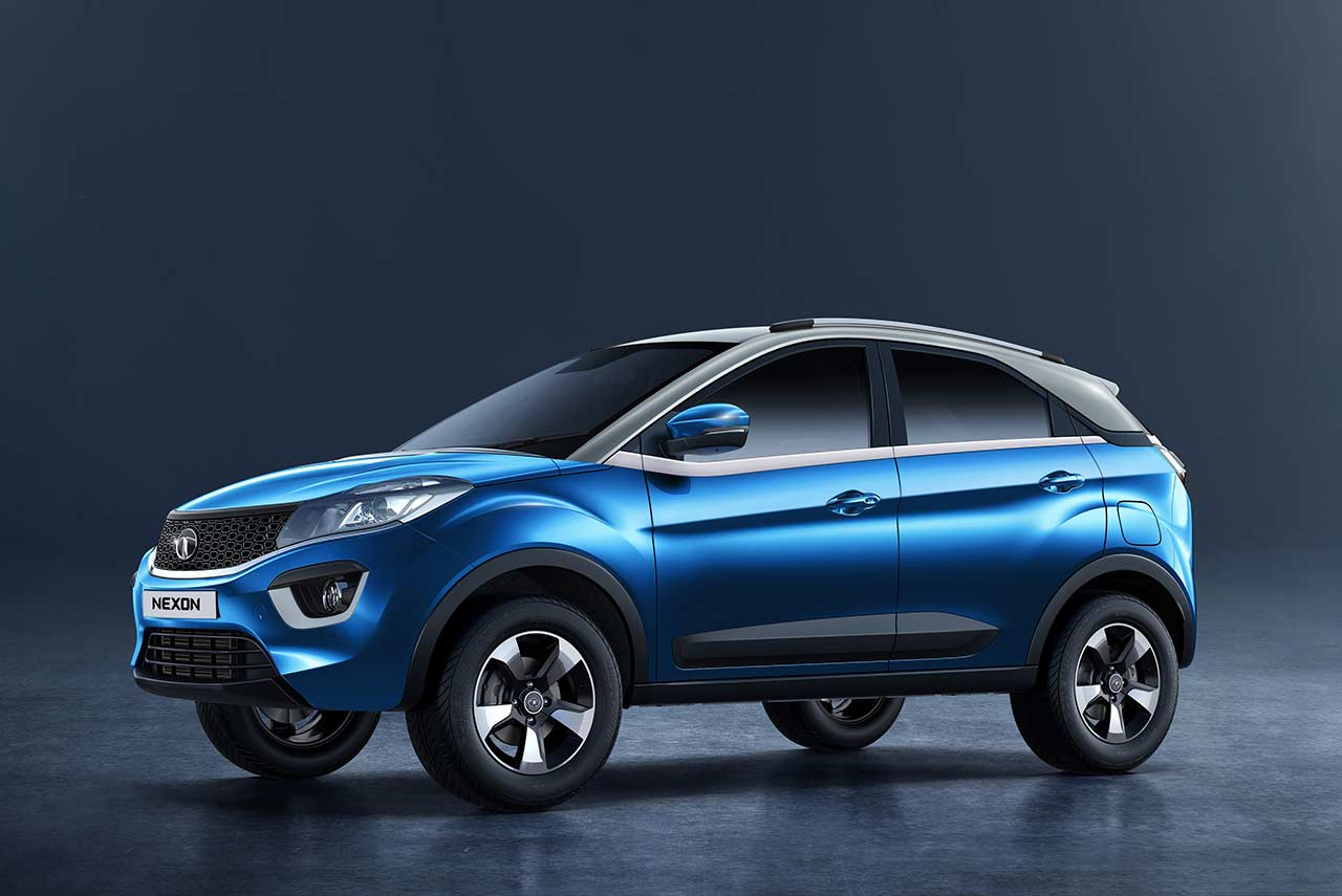 Front Door Colours Tata Nexon Launched In India Priced At Inr 5 85 Lakh