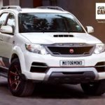 toyota fortuner grand edition motormind front quarter