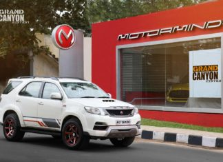 toyota fortuner grand edition motormind front right