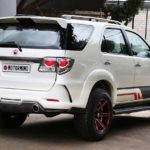 toyota fortuner grand edition motormind rear quarter