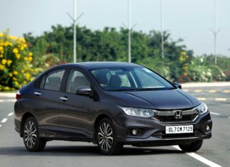 2017 Honda City Grey