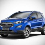2017 ford ecosport india kinectic blue front left pr