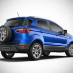 2017 ford ecosport india kinectic blue rear right pr