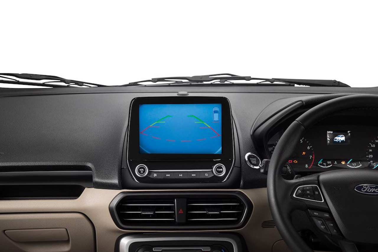 Ford Ecosport India Reverse Camera Pr