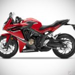 2017 honda cbr650f millennium red right studio