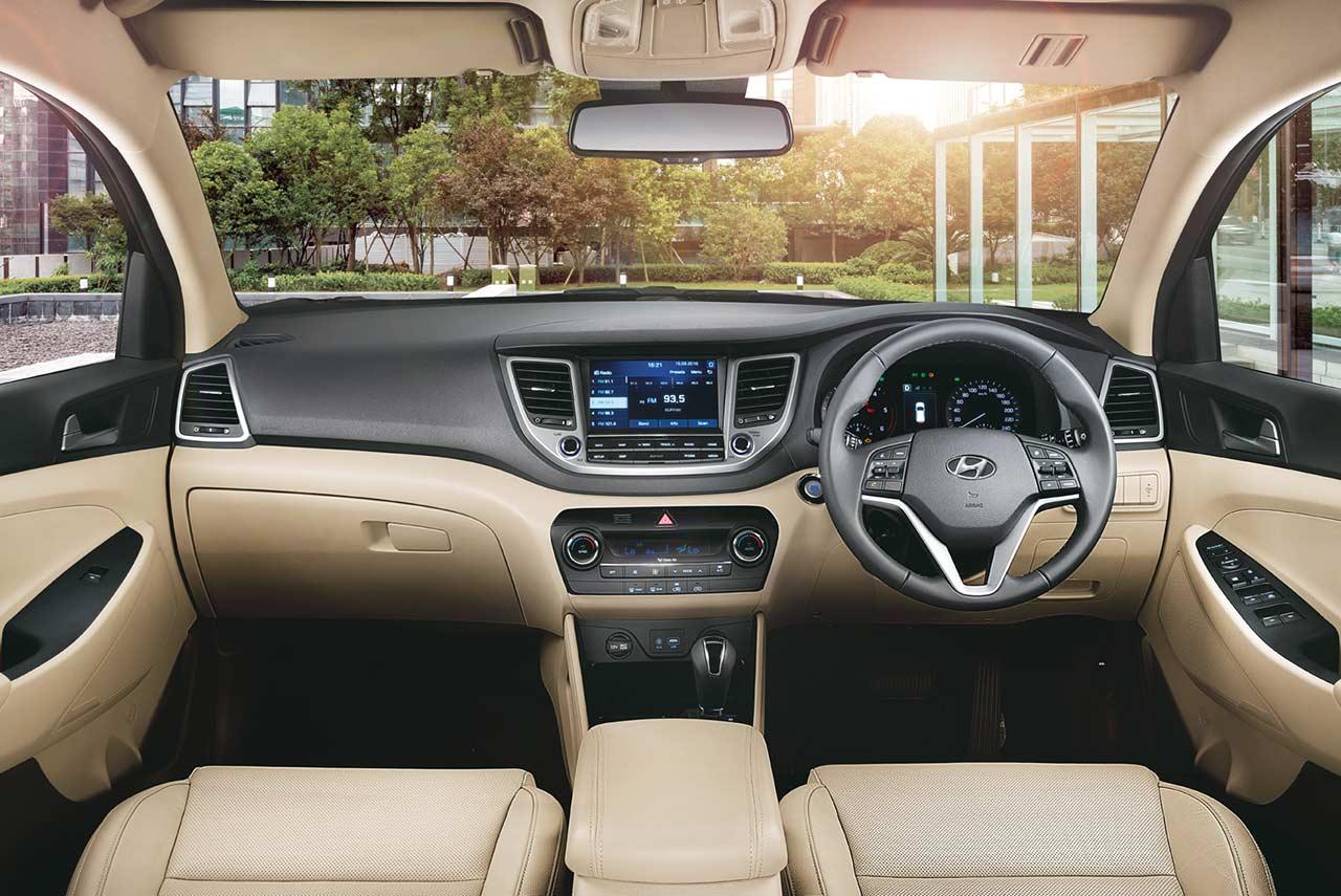 2017 hyundai tucson interior dashboard pr | AUTOBICS