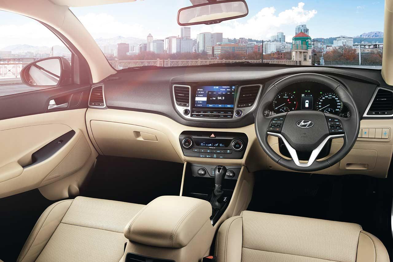 2017 Hyundai Tucson Interior Pr