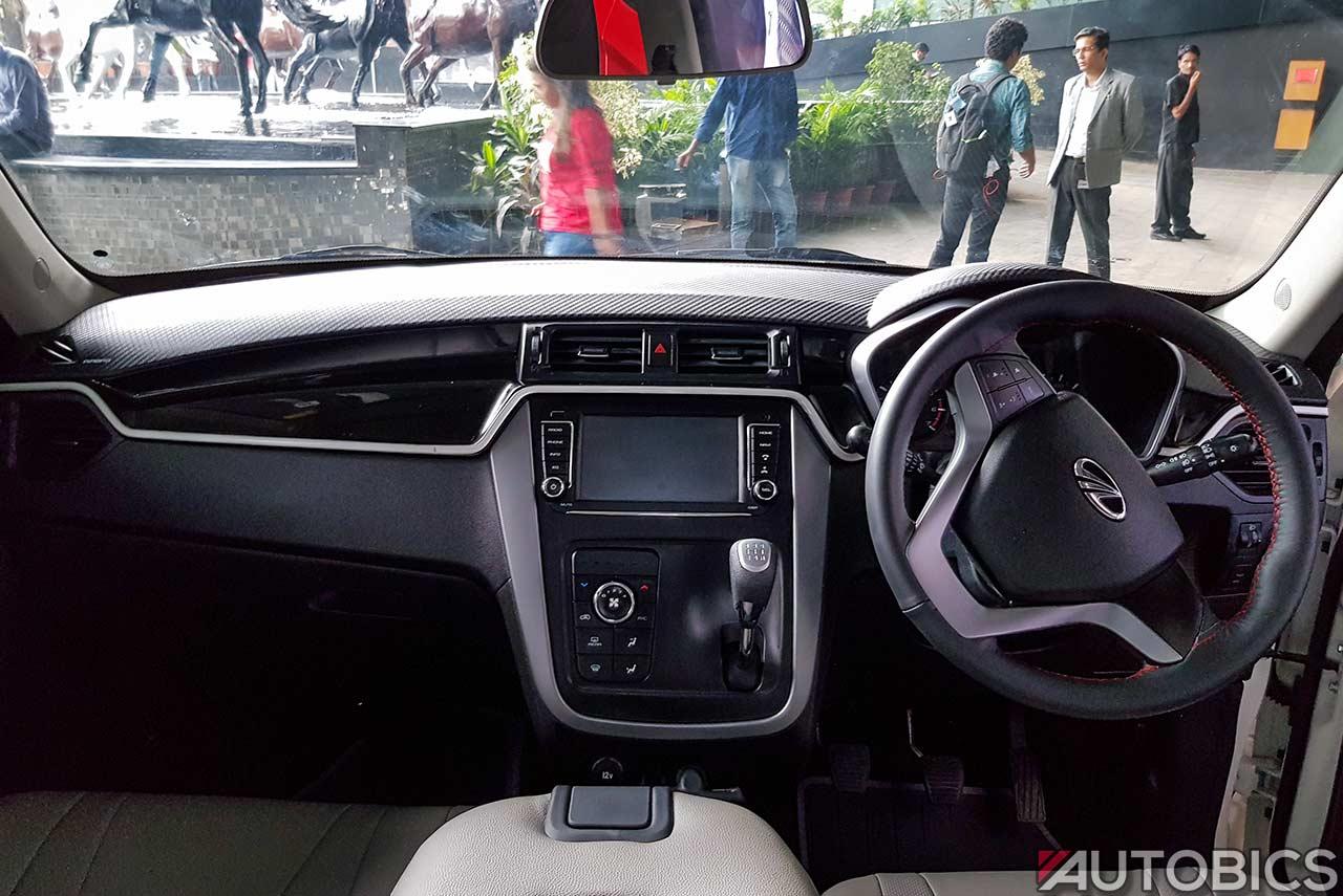 2017 Mahindra Kuv 100 Nxt Accessories White Dashboard